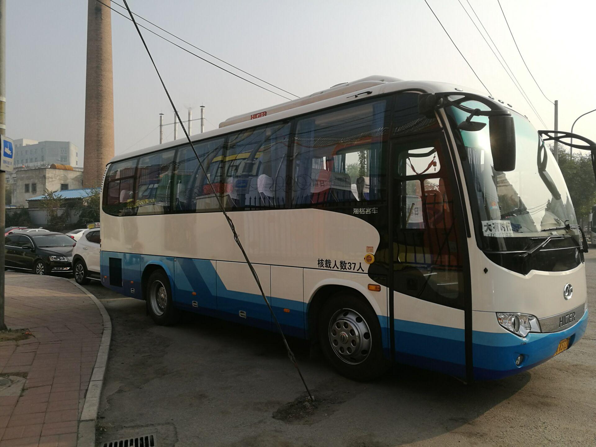 37座金龙-北京大巴车租赁公司